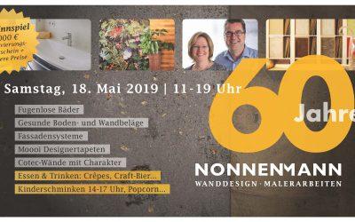 Firmenjubiläum (60 Jahre Nonnenmann)
